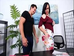 18+ pornography category big_ass (300 sec). PAWG Plumper Virgo Peridot Fucks Big Dick Employee.
