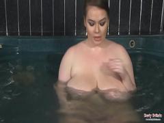 Download x videos category big_tits (480 sec). Big Tits British BBW Gina G having fun in the hot tub.