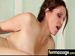 Play sexual video category massage (306 sec). Gorgeous Skinny gets a massage 15.