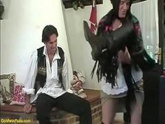 18+ movie category mature (746 sec). ugly grandma brutal banged by stepson.