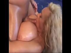 Sex x videos category facial (781 sec). Long haired blond with gigantic beach ball breasts pussy fucked amp_ creamed.