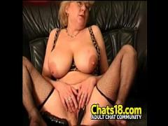 Full youtube video category oiled (1305 sec). Lucky small cock gets to fuck hot mature chubby woman big tits granny.