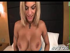 Genial youtube video category pornstar (480 sec). Glamour blowjob by juvenile golden-haired.