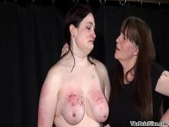 Genial video list category bdsm (368 sec). Amateur bdsm and extreme lesbian domination of chubby slave girl in hardcore.
