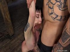 Good porno category bdsm (310 sec). Alt slave is abused and vibrated.