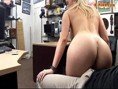 Sexy sensual video category blonde (372 sec). Big boobs amateur blonde babe gets nailed at the pawnshop.